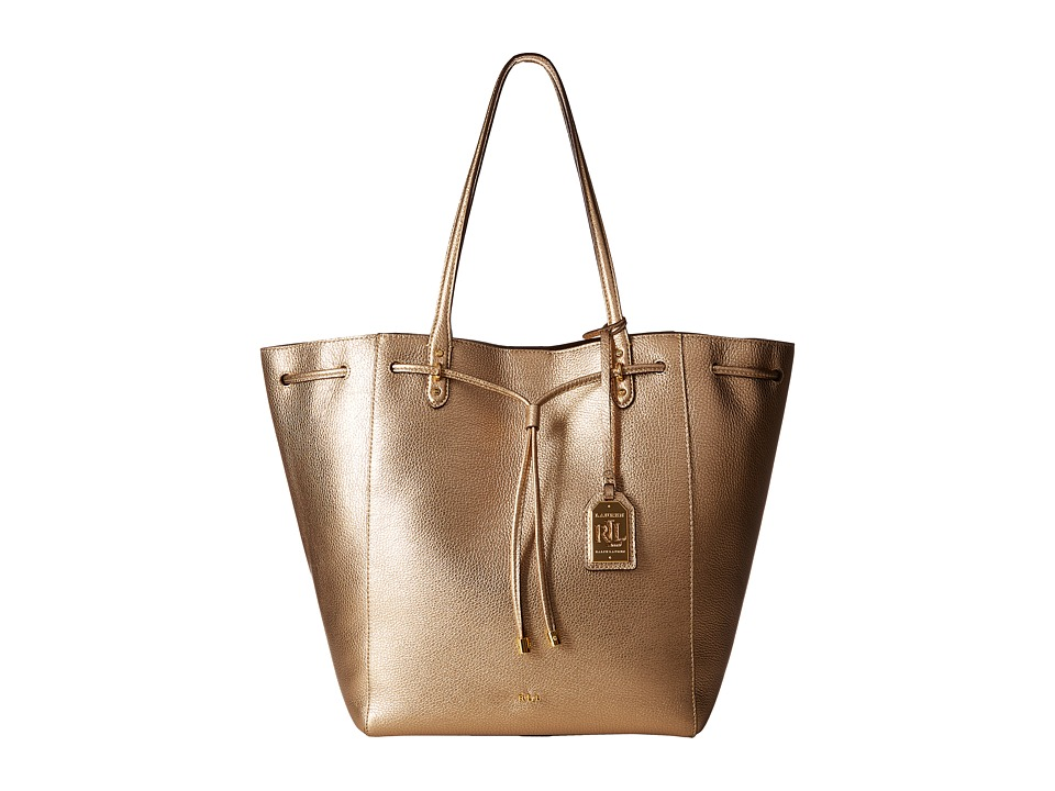 LAUREN Ralph Lauren - Oxford Large Tote (Gold Mine) Tote Handbags