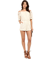 BB Dakota - Nikola Off the Shoulder Lace Romper