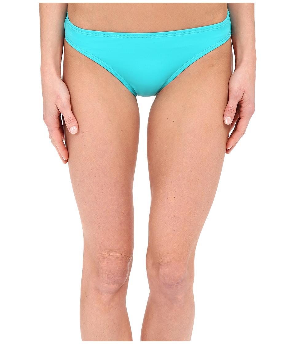 DKNY Street Cast Solids Classic Bottom Jade Womens Swimwear