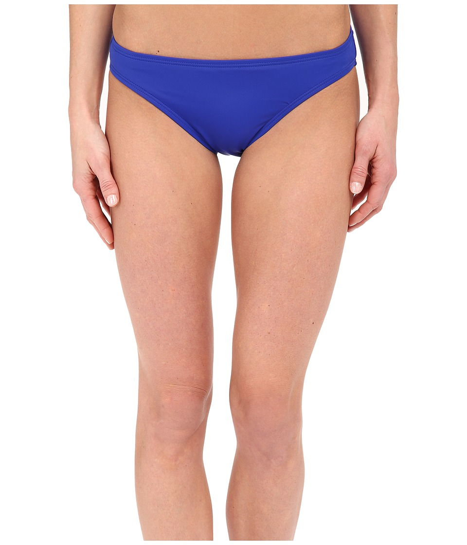 DKNY Street Cast Solids Classic Bottom Electric Womens Swimwear