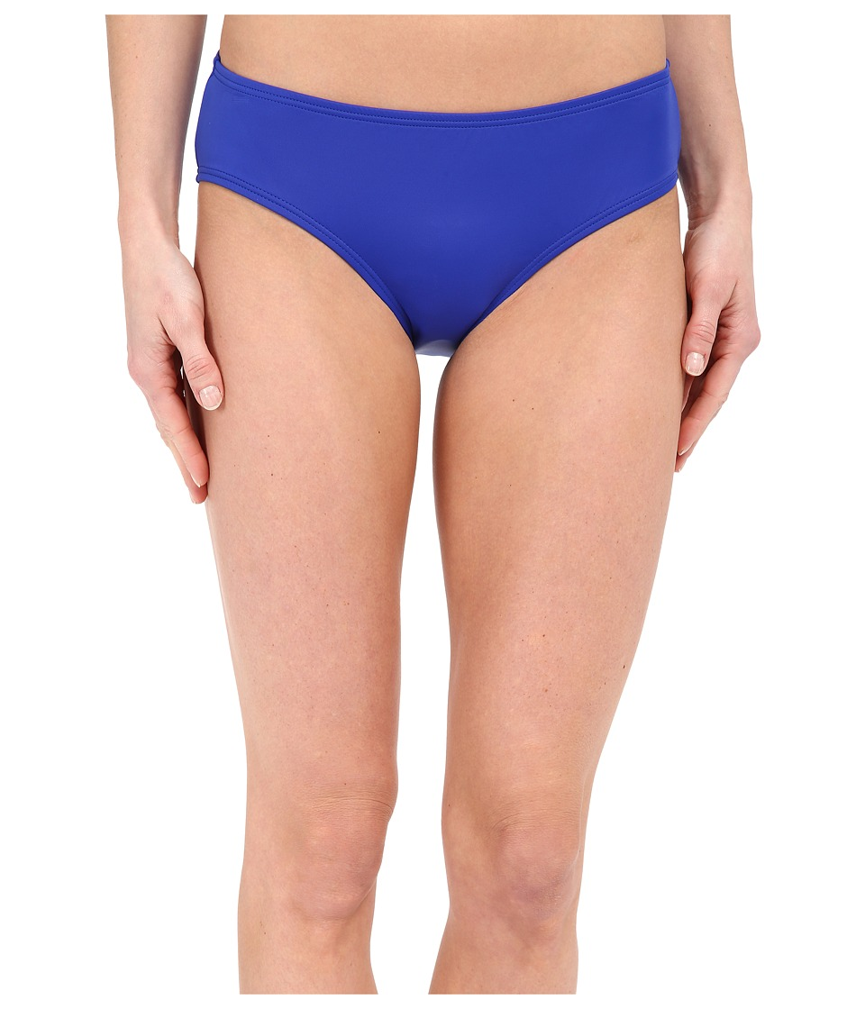 DKNY Street Cast Solids Hipster Bottom Electric Womens Swimwear
