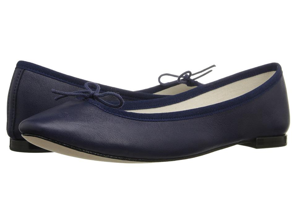 Repetto Cendrillon (Classique (Dark Blue Nappa Calfskin Leather)) Women