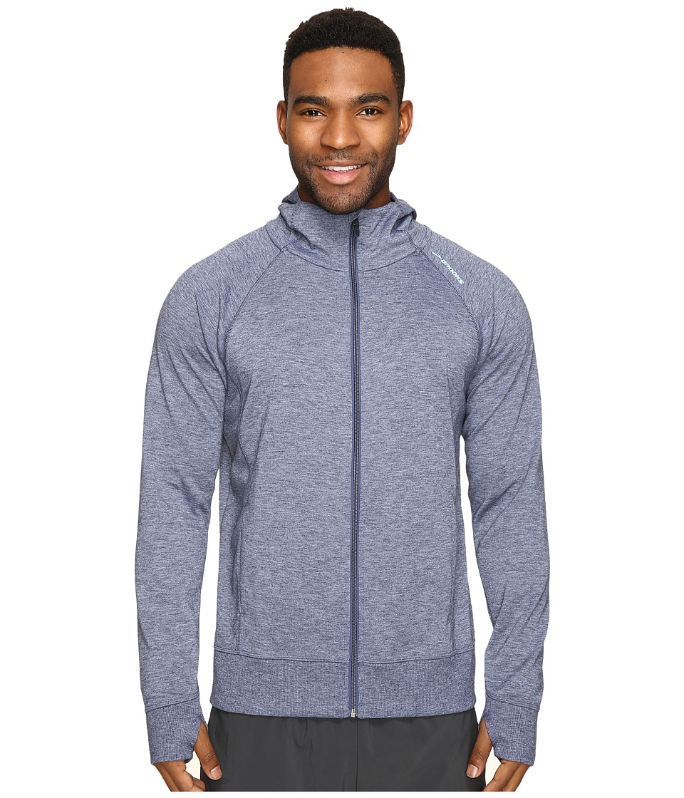 Brooks - Joyride Hoodie (Heather Coast) Men