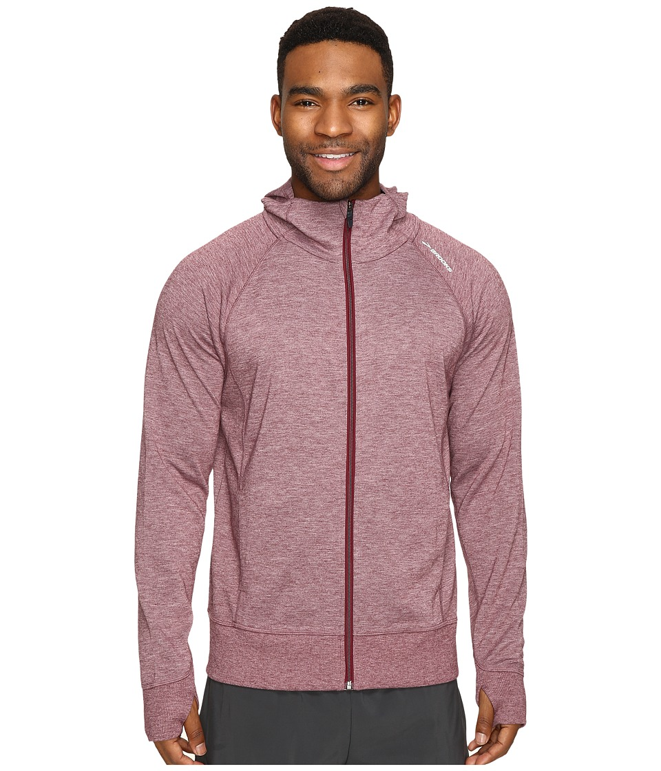 Brooks - Joyride Hoodie (Heather Root) Men