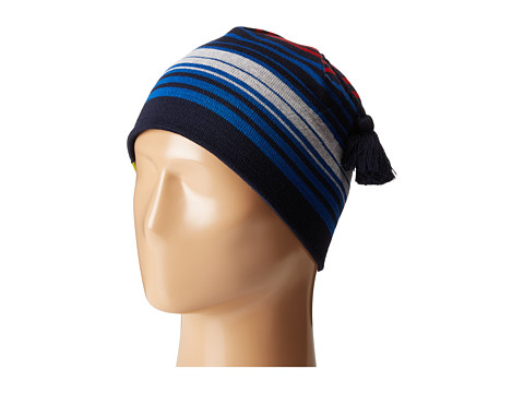 Smartwool Straightline Hat - Bright Blue/Deep Navy Heather