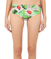 Agua De Coco by Liana Thomaz - Lace Rose Scoop Regular Bottoms