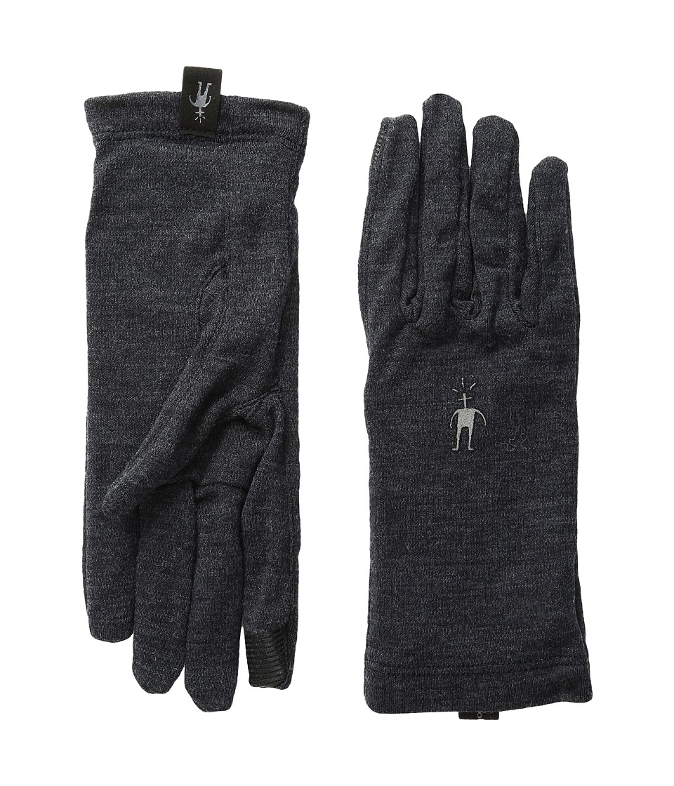 Smartwool NTS Mid 250 Gloves (Charcoal Heather) Wool Gloves