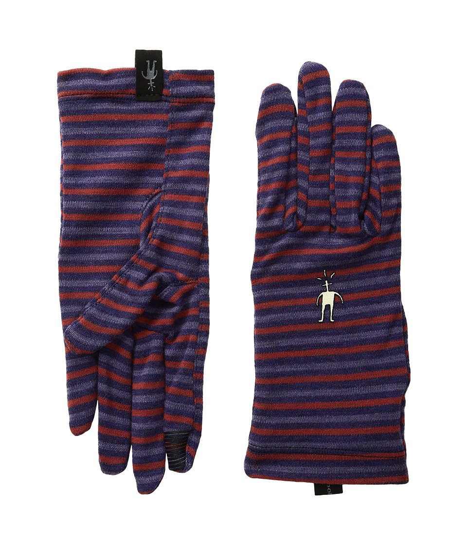 Smartwool NTS Mid 250 Pattern Gloves (Mountain Purple Heather) Wool Gloves