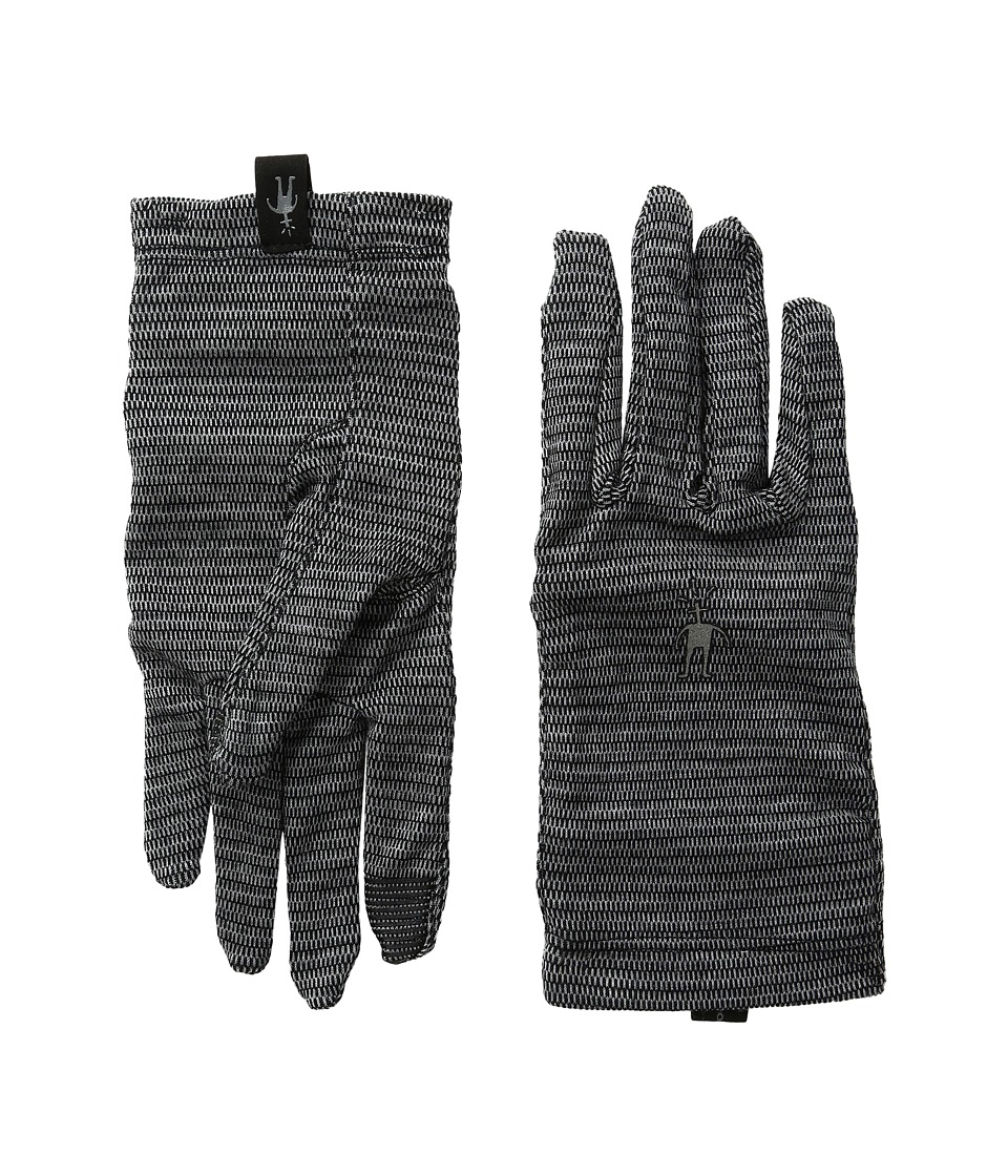 Smartwool NTS Mid 250 Pattern Gloves (Black) Wool Gloves