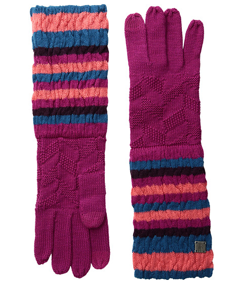 Smartwool Striped Chevron Gloves