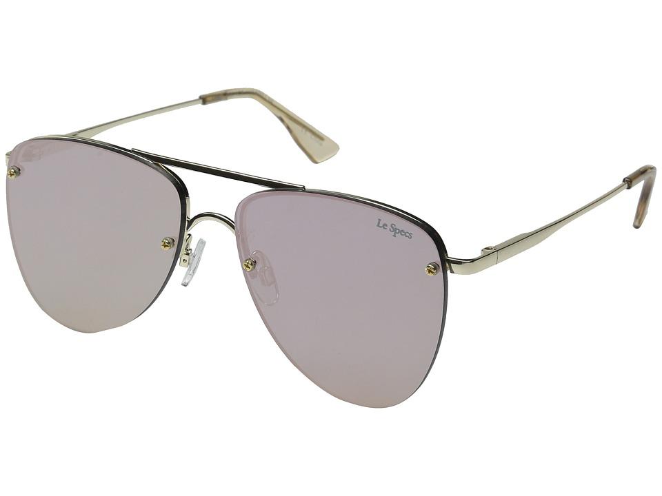 Le Specs The Prince (Gold/Blush) Fashion Sunglasses