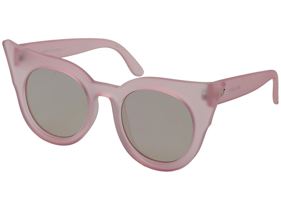 Le Specs Flashy Cotton Candy Fashion Sunglasses
