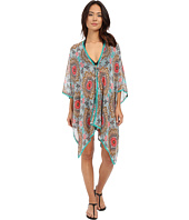 Red Carter - Renaissance Kimono Cover-Up