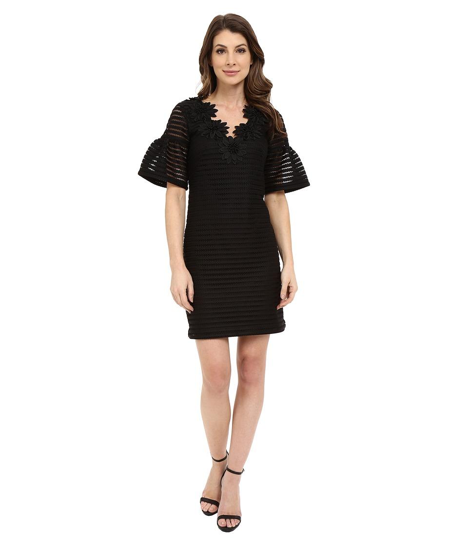 Nanette Lepore Sweet Surprise Shift Black Womens Dress