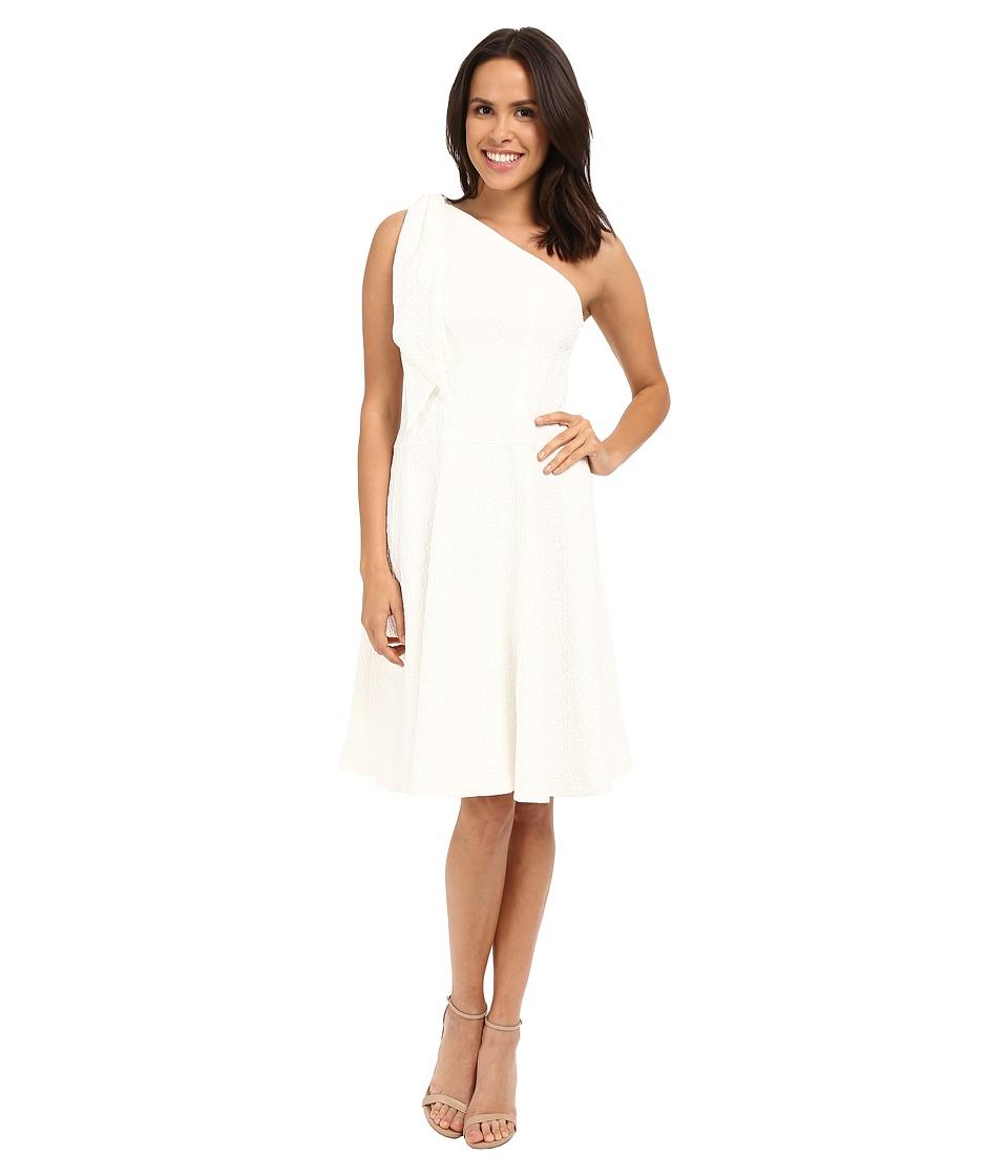 Nanette Lepore Soiree One Shoulder Dress White Womens Dress