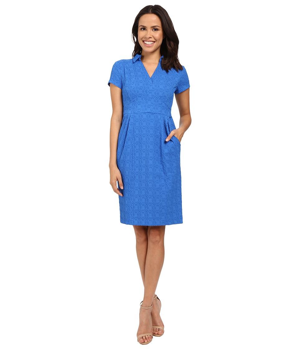 Nanette Lepore Sundown Shift Dress Blue Womens Dress