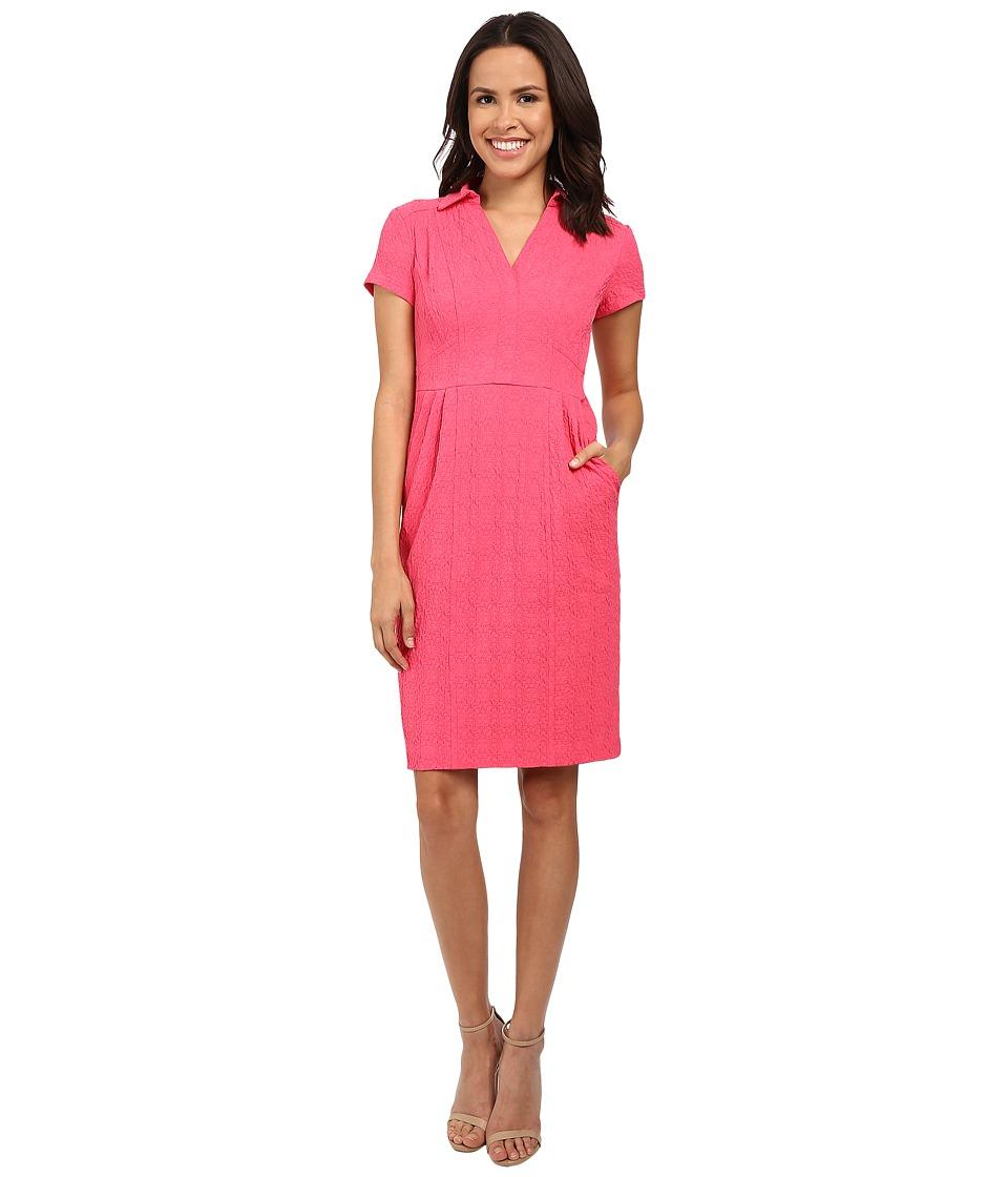 Nanette Lepore Sundown Shift Dress Azalea Womens Dress