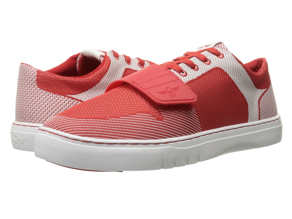 Creative Recreation Cesario Lo Woven Red/White Mens Shoes