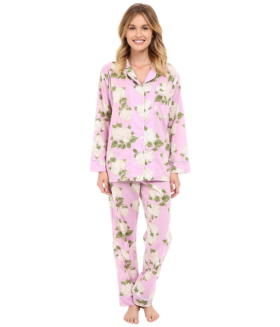BedHead Classic Pajamas Voile Purple Hydrangea Womens Pajama Sets