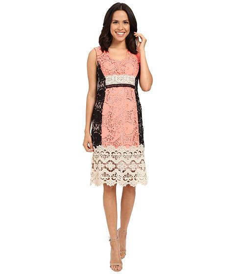 Nanette Lepore Daquiri Lace Dress - Tangerine Multi