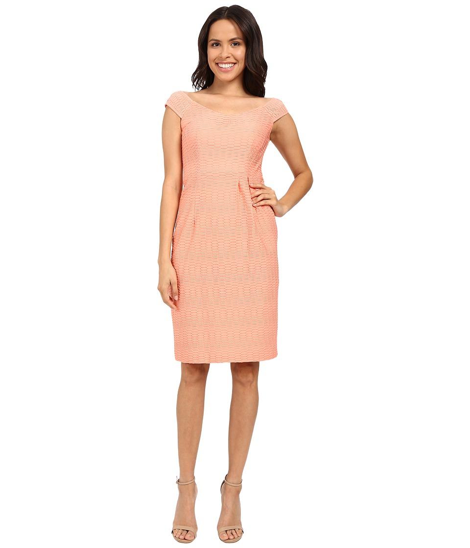 Nanette Lepore Two to Tango Dress Tangerine Womens Dress