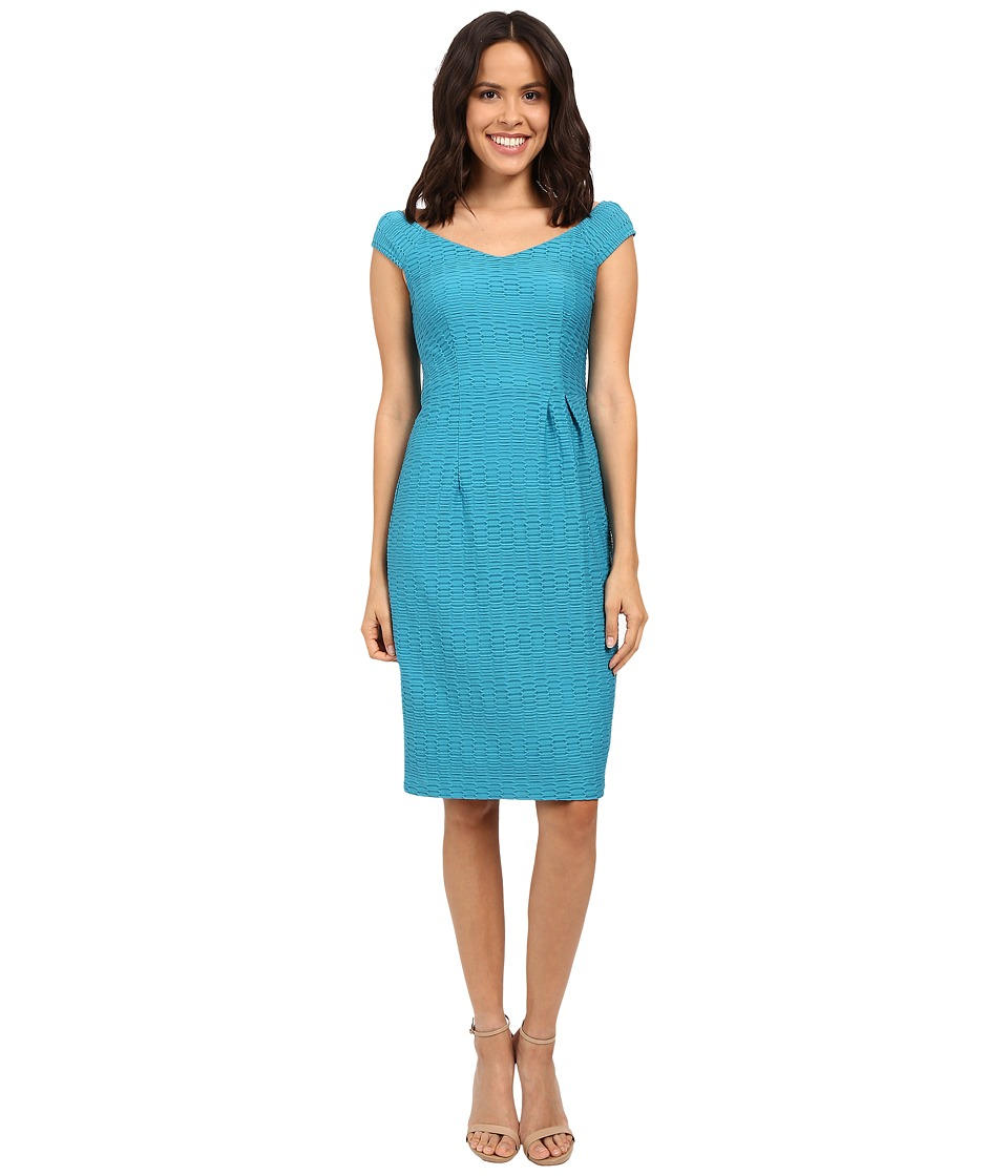 Nanette Lepore Two to Tango Dress Blue Tide Womens Dress