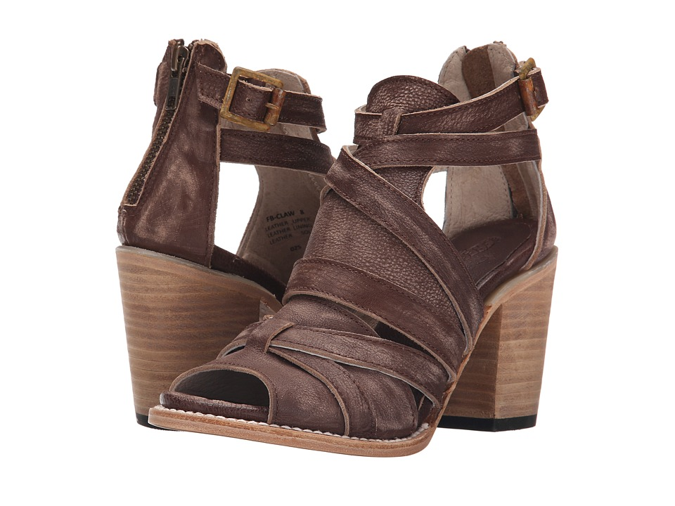 Freebird Claw (Brown Distressed) High Heels