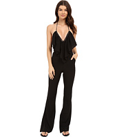 6 Shore Road by Pooja - Black and White Super 70s Jumpsuit Cover-Up