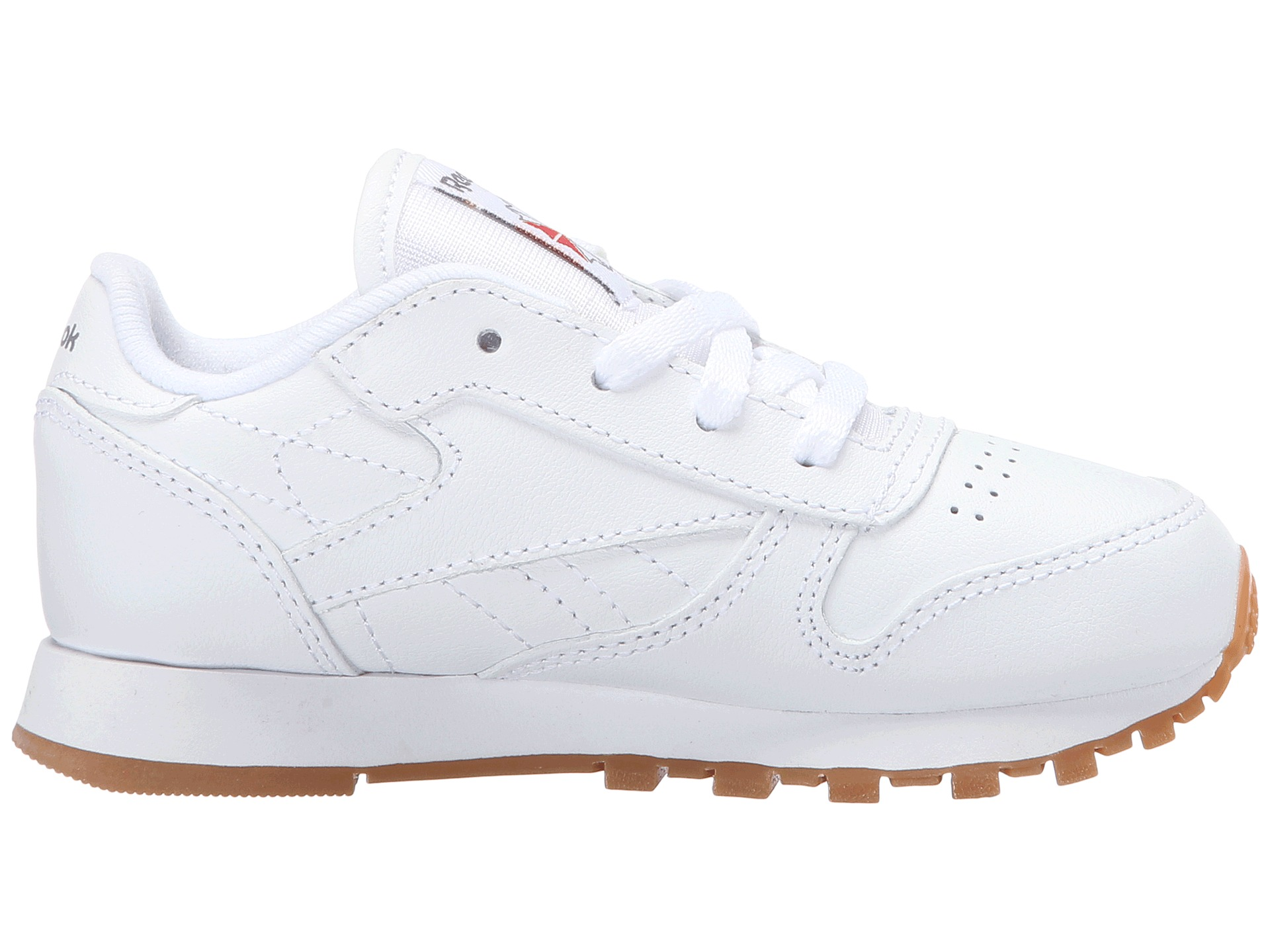 Reebok Kids Classic Leather Gum Infant Toddler at Zappos