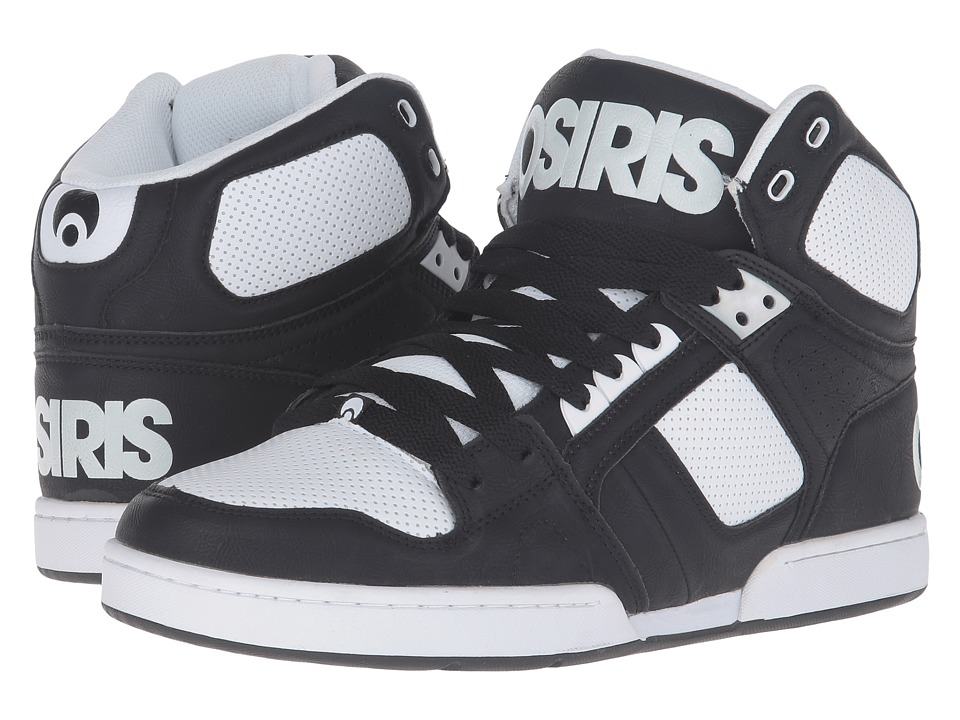 Osiris NYC83 (Black/Black/White) Men