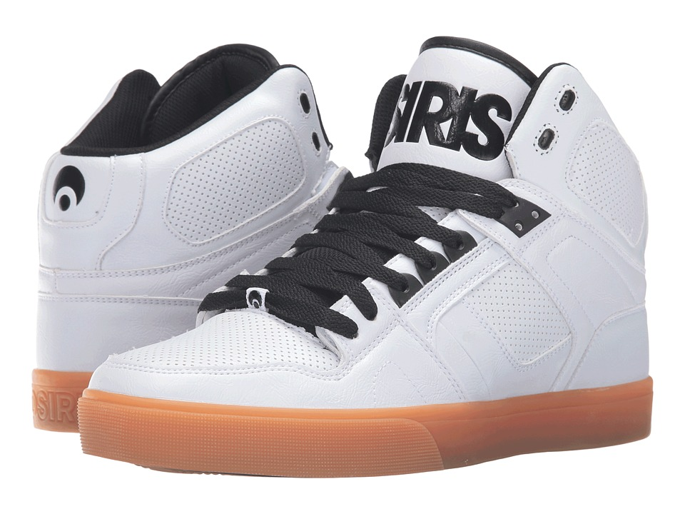 Osiris NYC83 VLC (White/Gum) Men