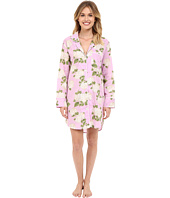BedHead - Long Sleeve High-Low Hem Nightshirt
