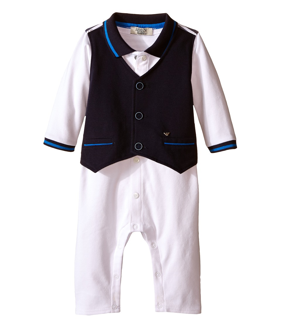 Armani Junior - One-Piece with Navy Vest