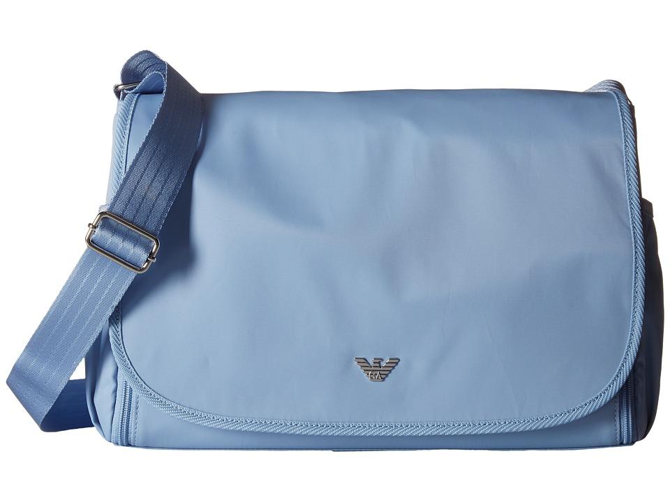 Armani Junior Diaper Bag Light Sky Diaper Bags