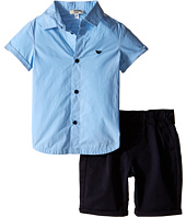 Armani Junior - Button Down with Navy Pants (Infant)