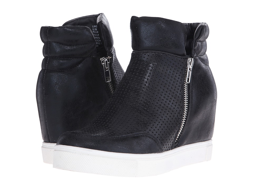 Steve Madden Linqsp Black Womens Shoes