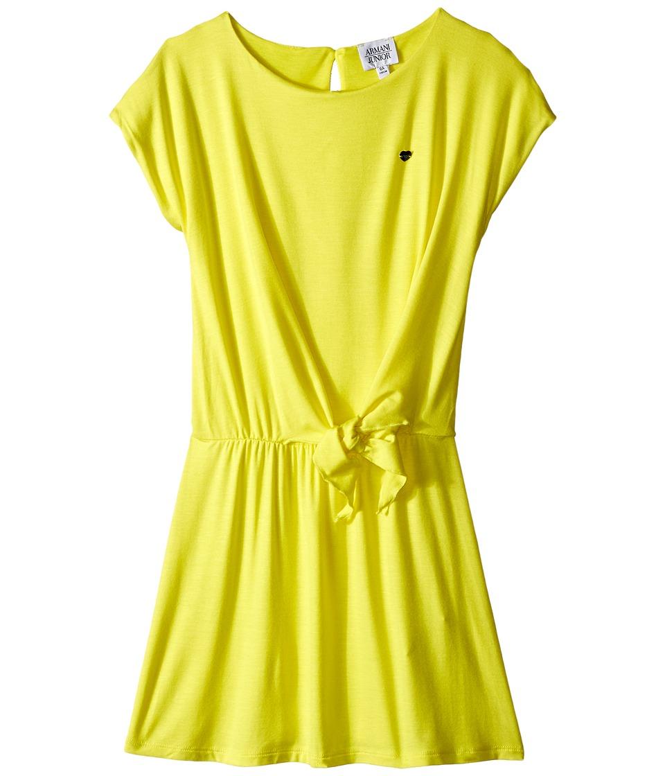 Armani Junior Dress with Knot Big Kids Sun Girls Dress