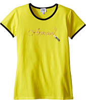 Armani Junior - T-Shirt with Armani Lipstick Writing (Big Kids)