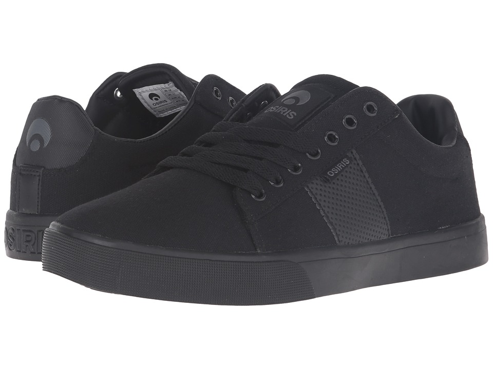 Osiris Rebound VLC (Black/Charcoal) Men