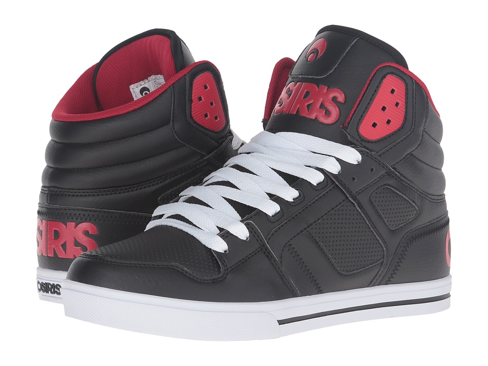 Osiris Clone (Black/Red/Red) Men