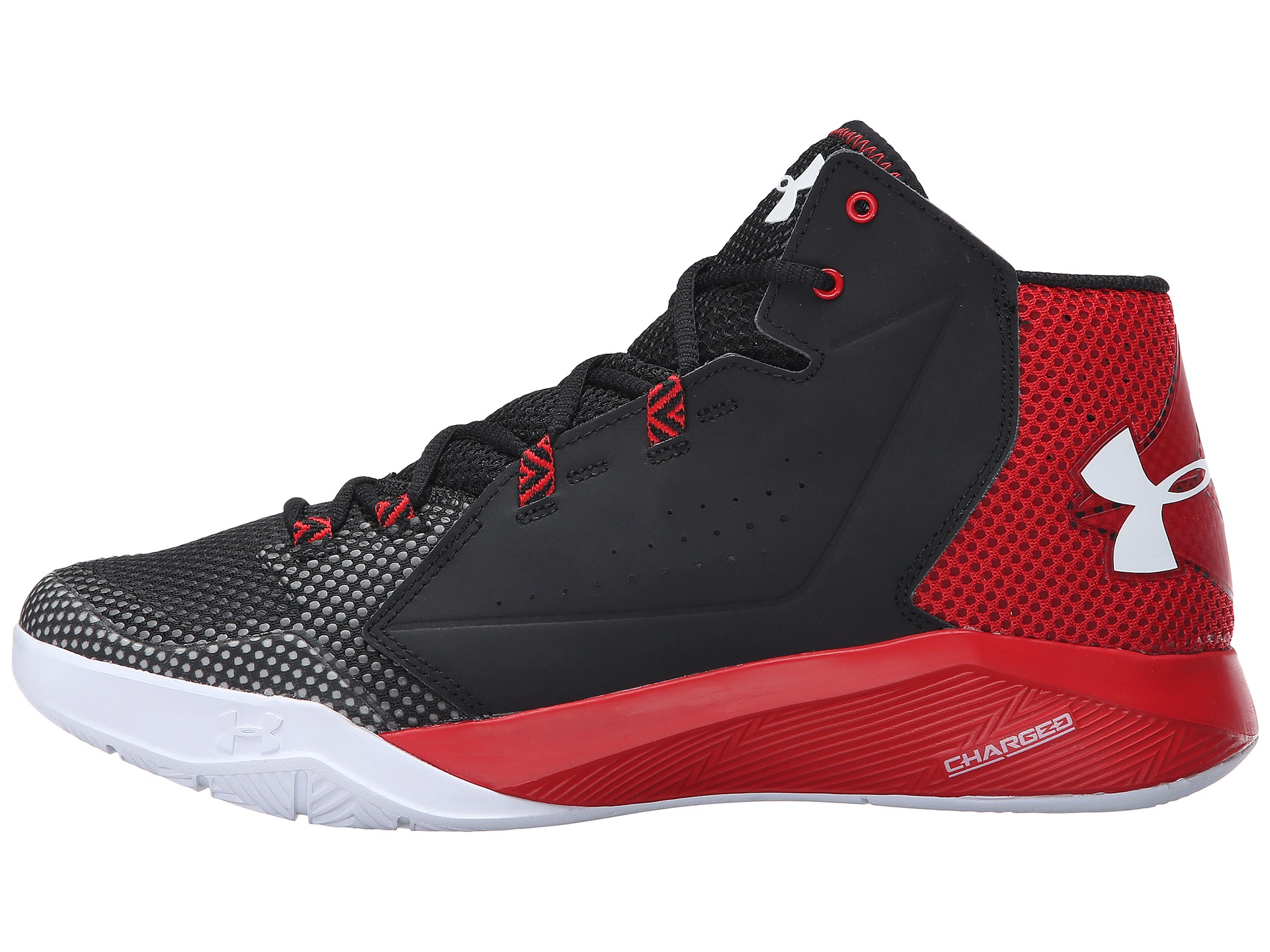 Under Armour UA Torch Fade Black/Red/White - Zappos.com Free Shipping ...