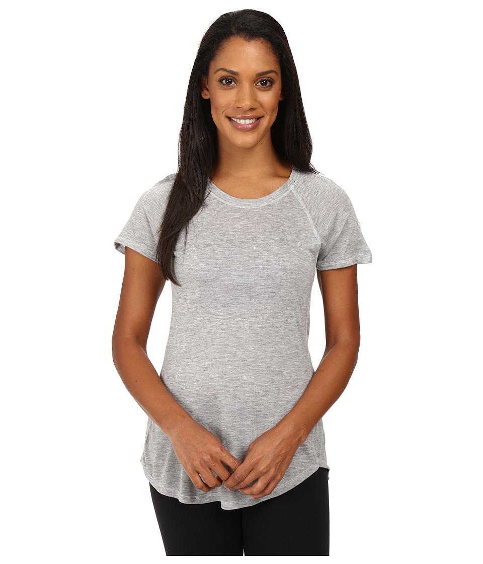 The North Face Nueva Short Sleeve Top (TNF Light Grey Heather) Women