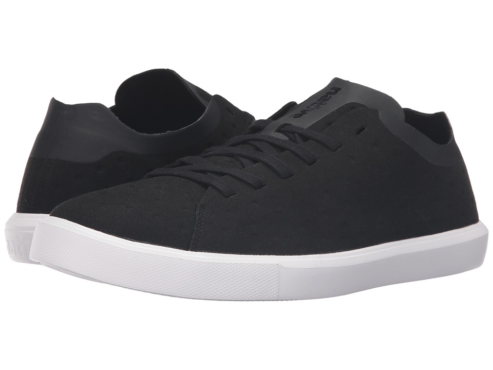 Native Shoes Monaco Low (Jiffy Black/Shell White) Lace up casual Shoes