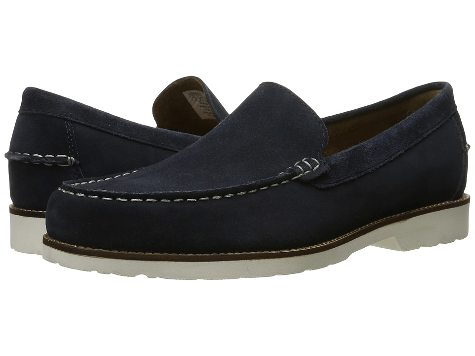 Rockport - Classic Move Venetian (New Dress Blues Suede) Mens Shoes
