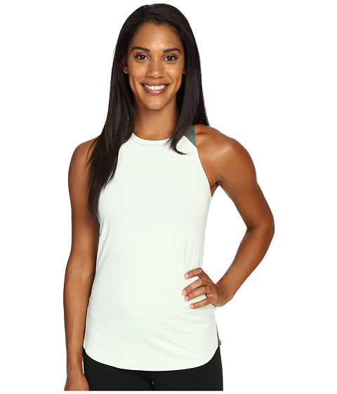 The North Face Dynamix Tank Top - Subtle Green Heather/Balsam Green