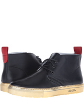 Del Toro - Leather Chukka Sneaker with Metallic Trek Sole