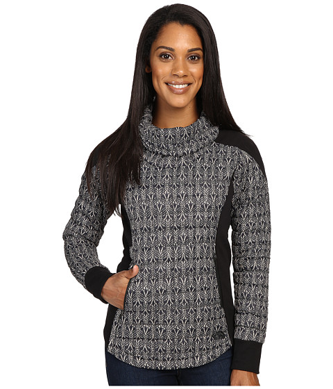 The North Face MA ThermoBall Pullover - TNF Black Lace Print