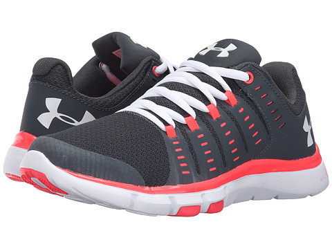 Under Armour UA Micro G® Limitless TR 2 - Stealth Gray/Pink Chroma/White