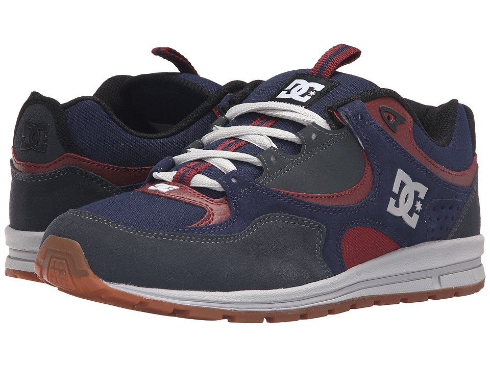 DC - Kalis Lite (Navy/Grey) Mens Skate Shoes