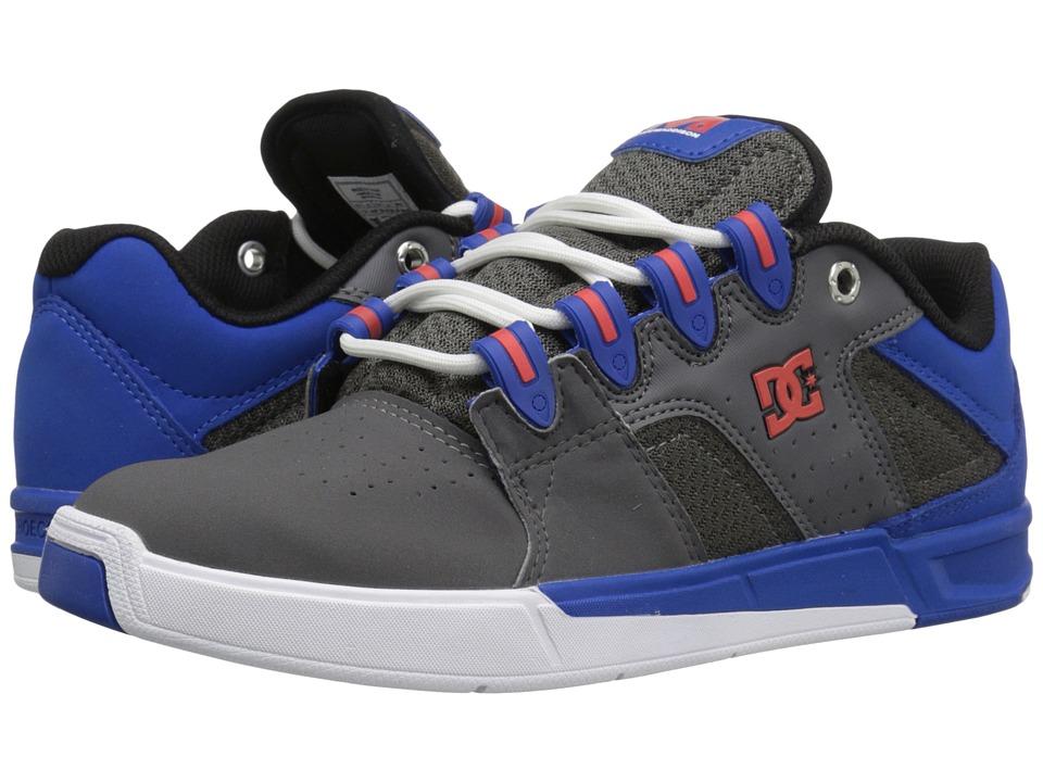DC - Maddo (Grey/Blue/Grey) Mens Skate Shoes